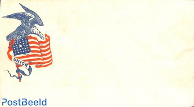 Civil war envelope, Union