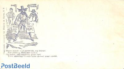 Civil war envelope, Those bonds will never do