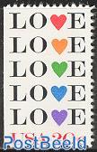 Love stamp 1v