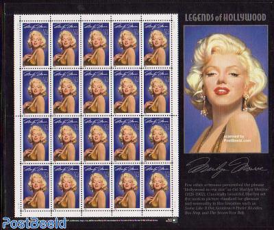 Marilyn Monroe minisheet