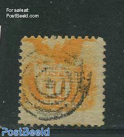 10c. Orange, used