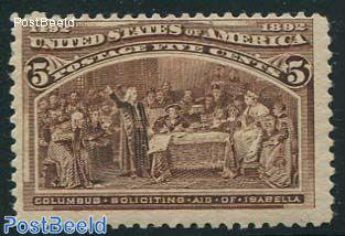 5c, Columbus visits Queen Isabella