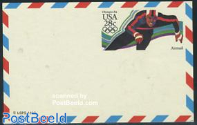 Airmail postcard olympics, scating