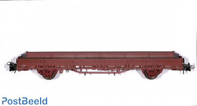 Flat car, brown SNCF