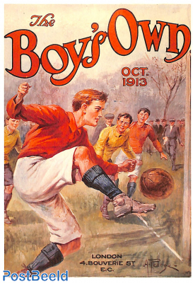 Boy's own cover