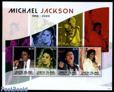 Union Island, Michael Jackson 4v m/s