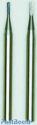Proxxon Hardmetaal freesboren (speerboren) (0.6mm en 0.8mm)