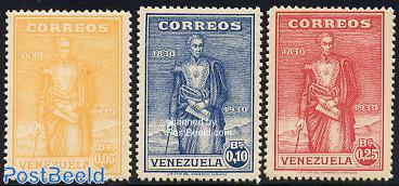 Simon Bolivar 3v