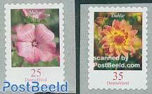 Definitives, flowers 2v s-a