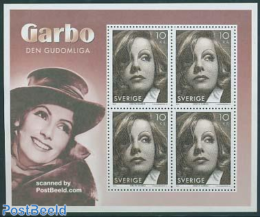 Greta Garbo s/s, joint issue USA