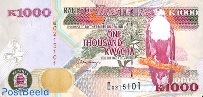 One thousand kwacha