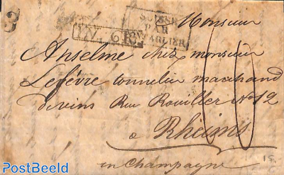 folding letter from Aarau
