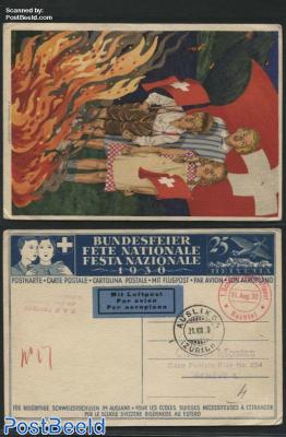 postcard National festival